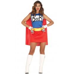 Disfraz Beerwoman superheroe