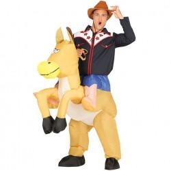 Disfraz Cowboy Hinchable