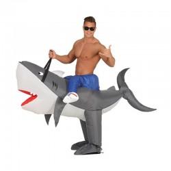 Disfraz de Tiburón Hinchable